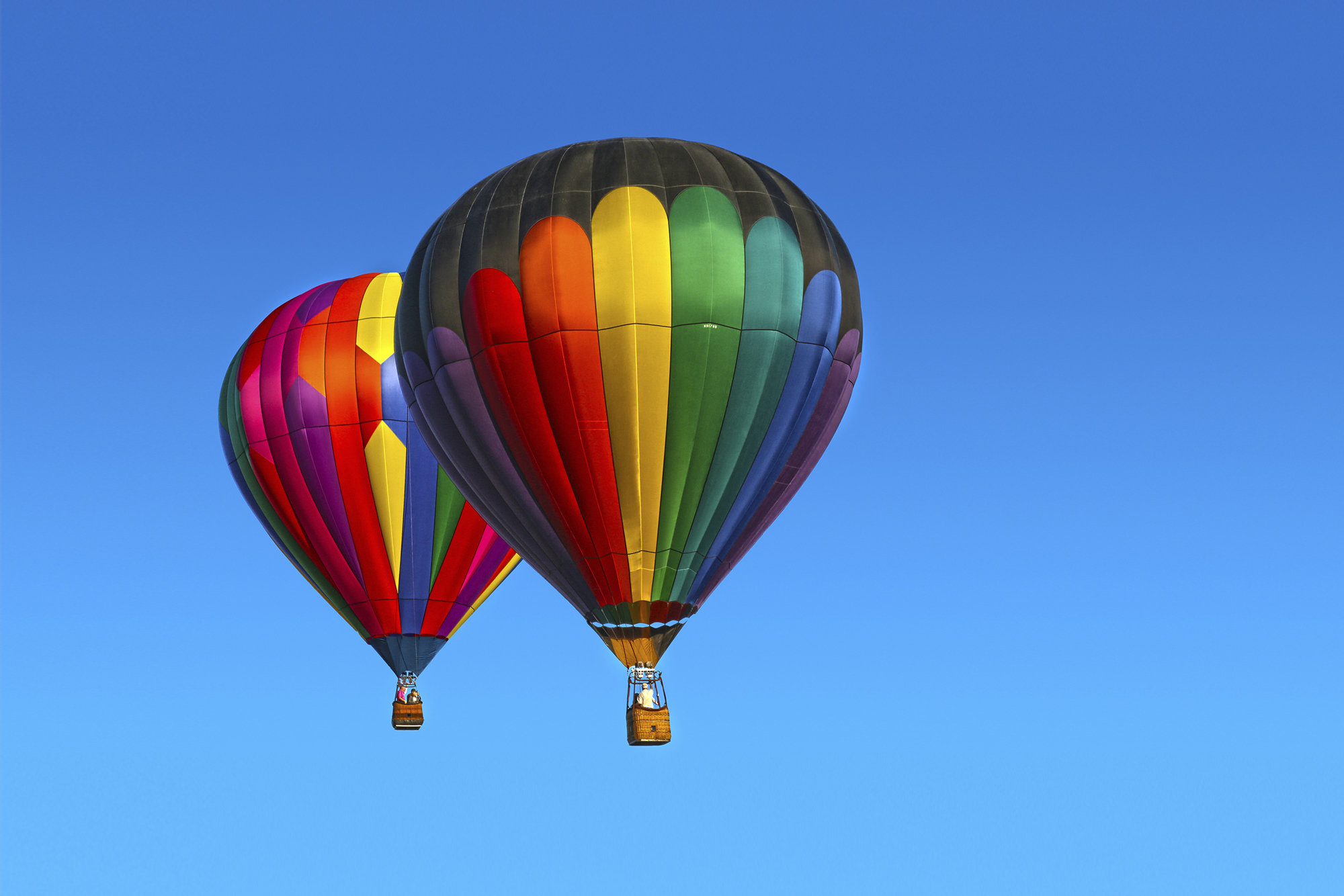 Spring Hot Air Balloon Festival by Skip Weeks