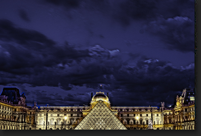 le Louvre by Skip Weeks
